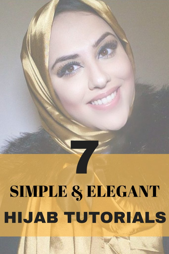 7 STEP BY STEP HIJAB TUTORIALS