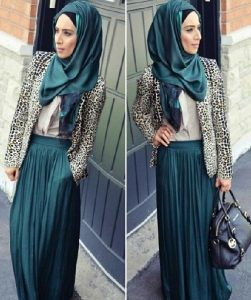 autumn hijab outfit ideas