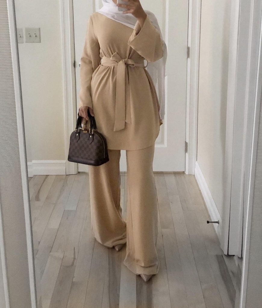 hijab fashion pant outfits