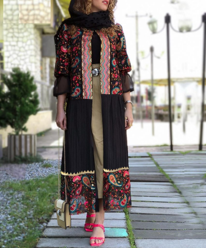 Beautiful modern abaya