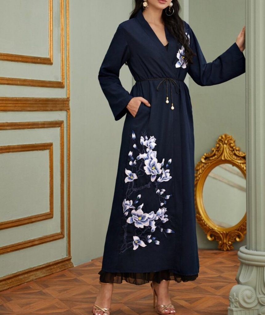 elegant and modern abayas