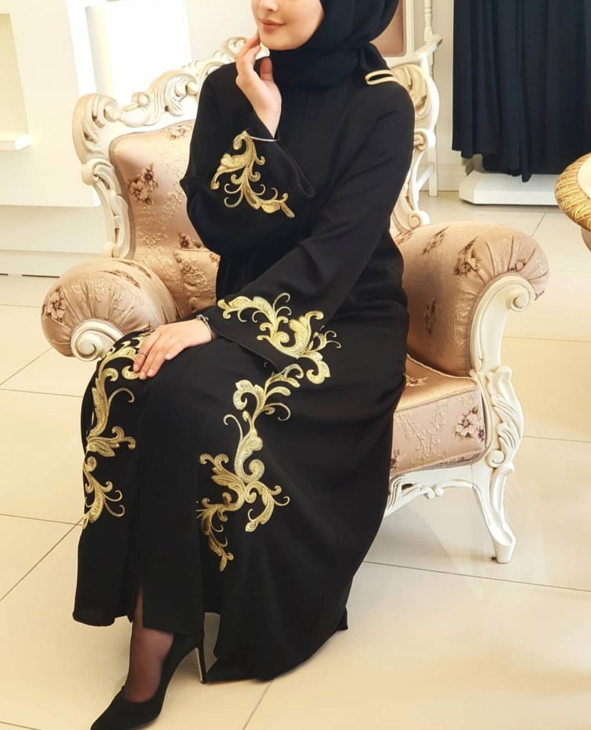 Beautiful modern Abaya