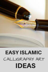 Easy Islamic Calligraphy Art Ideas