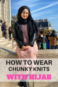 How To Wear Chunky Knits With Hijab