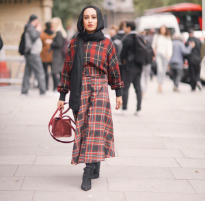 How To Wear Midi Skirts With Hijab