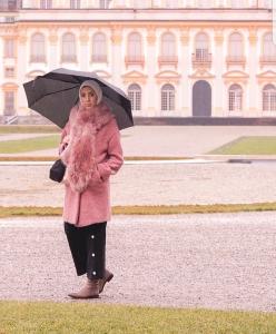 classy winter hijab looks with hijab