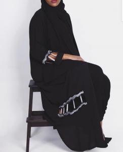 Latest Dubai Style BlackAbayas