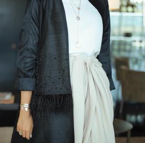 Latest Dubai Style Black Abayas