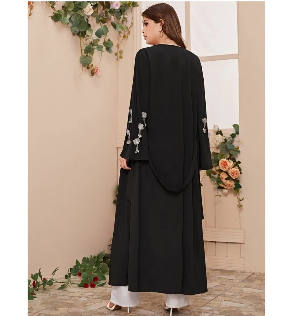 elegant and open abayas