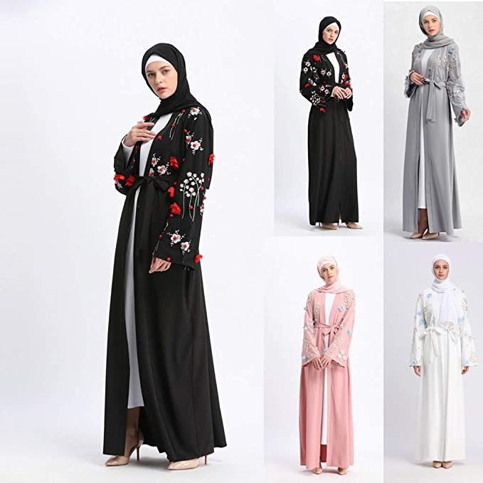 muslim women wearing abayas