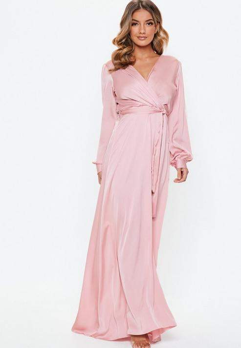 modest maxi dresses with sleeves