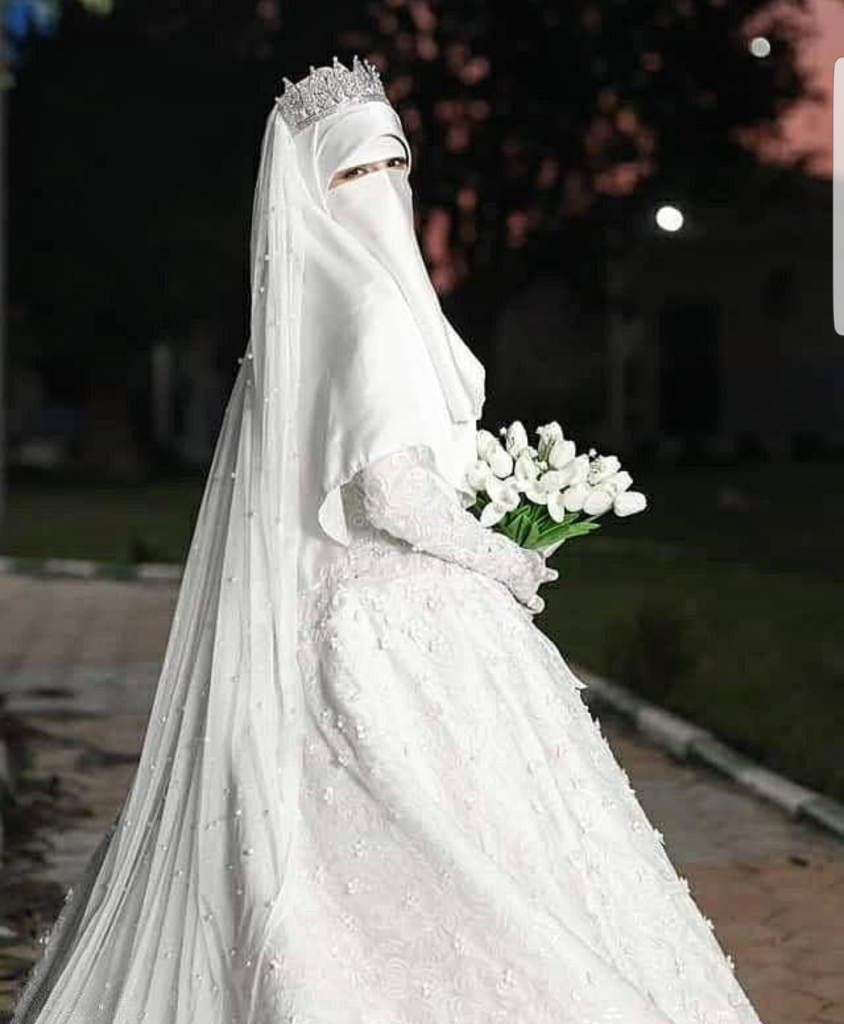 Hijabi Wedding Dress