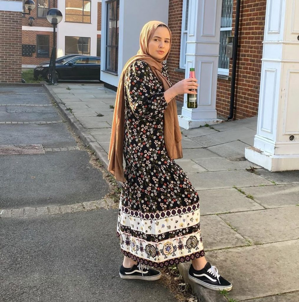 cutest hhijab fashion summer long dresses