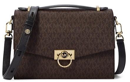 brown designer bag