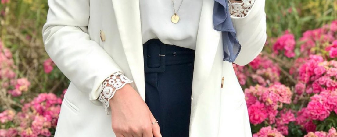 How To Wear Long Necklace With Casual Outfit