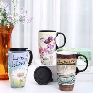 tall travel tea mugs