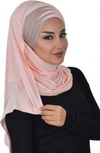 woman with hijab headwrap