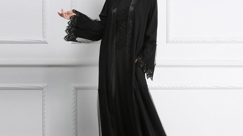 Latest Open Abaya Styles For Ramadan