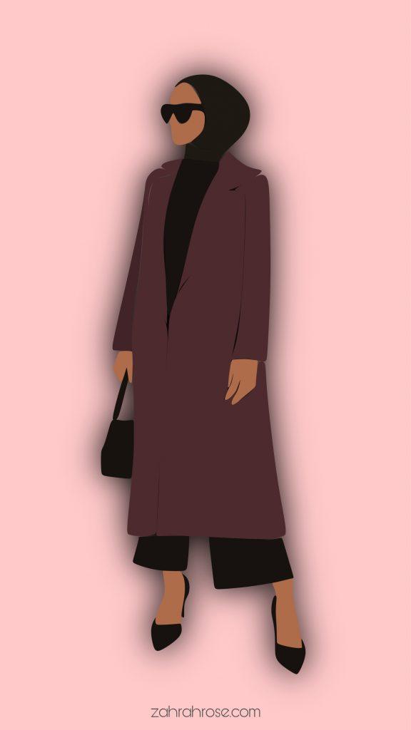 hijab cartoon