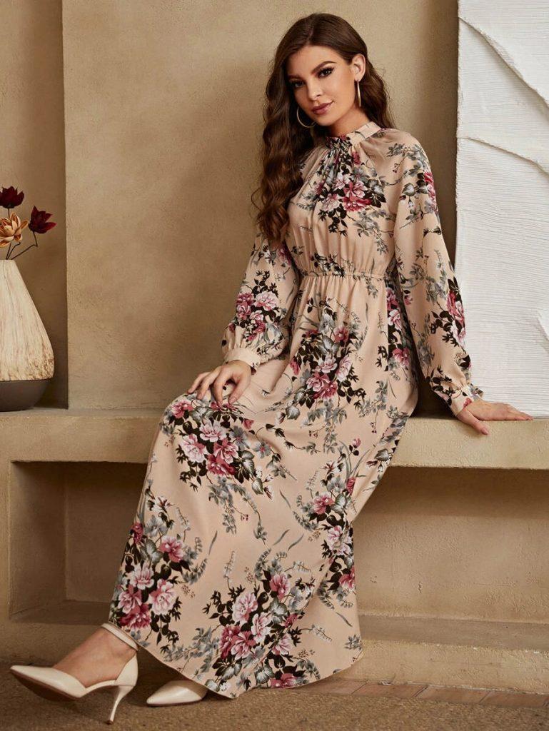 allover floral dress