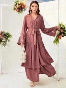 flounce abaya