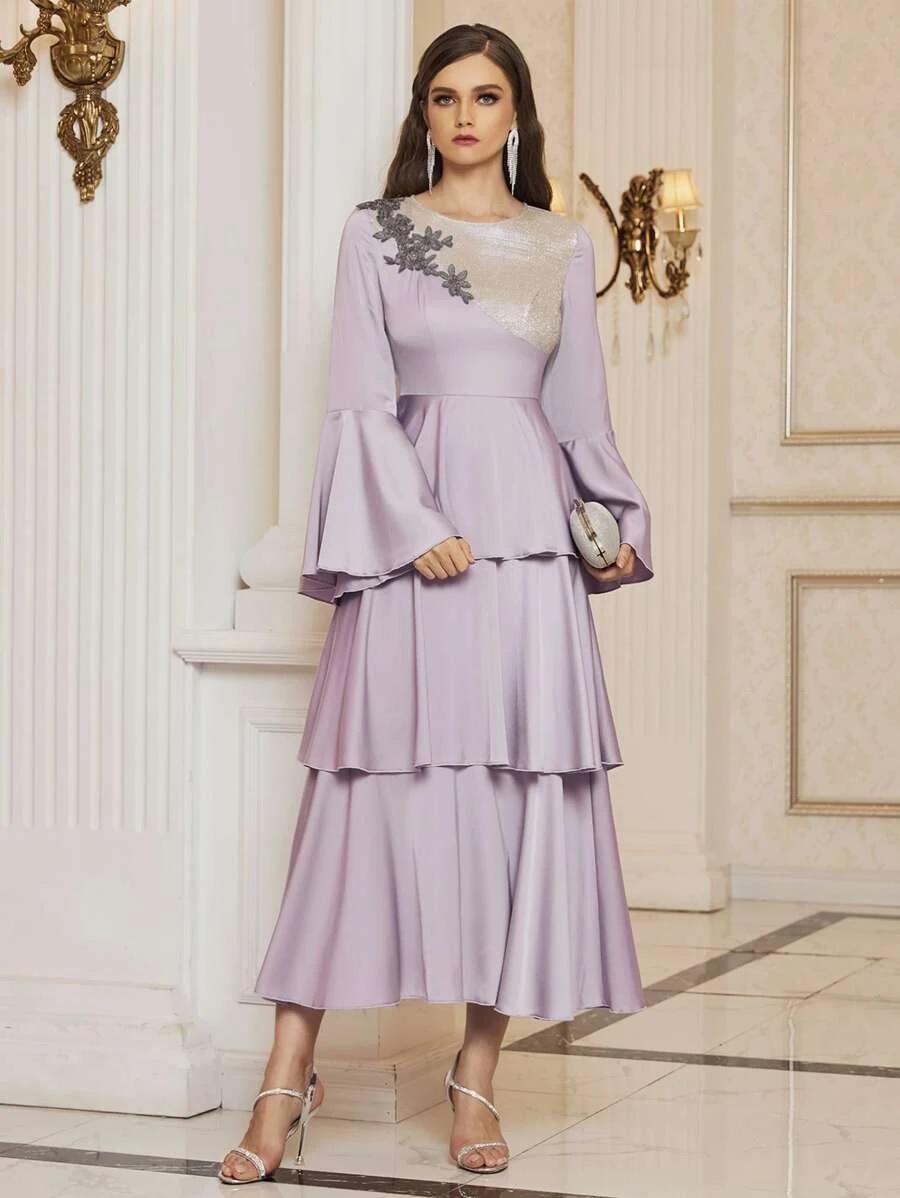 lilic evening dress